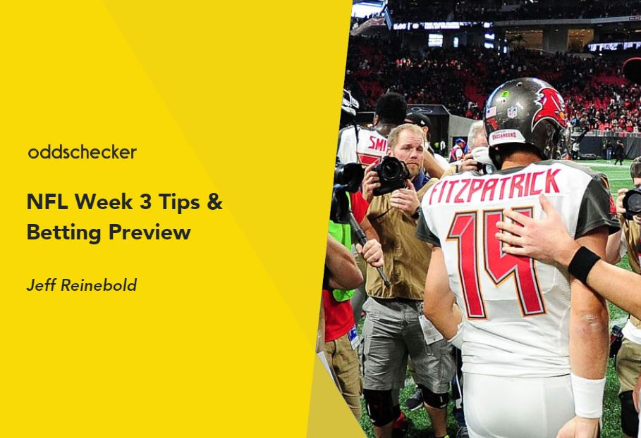 Jeff Reinebold's NFL Week 3 Preview