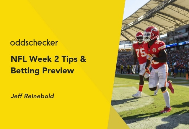 Jeff Reinebold's NFL Week 2 Tips & Preview