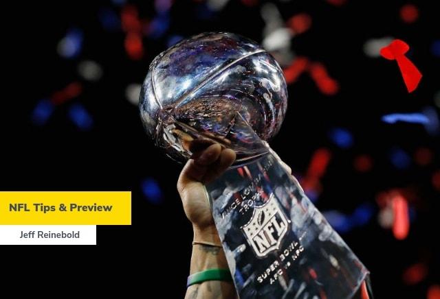 Jeff Reinebold's NFL Week 1 & Ante-Post Tips