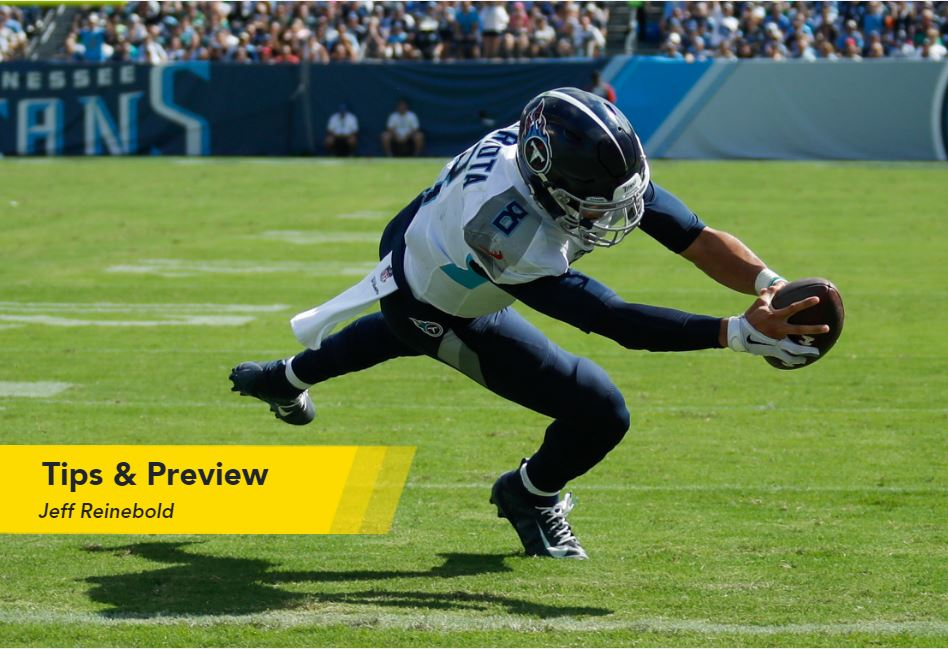 Jeff Reinebold's NFL Week 11 Tips & Betting Preview