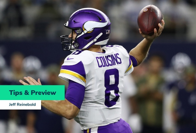 Jeff Reinebold's NFL Week 11 Tips