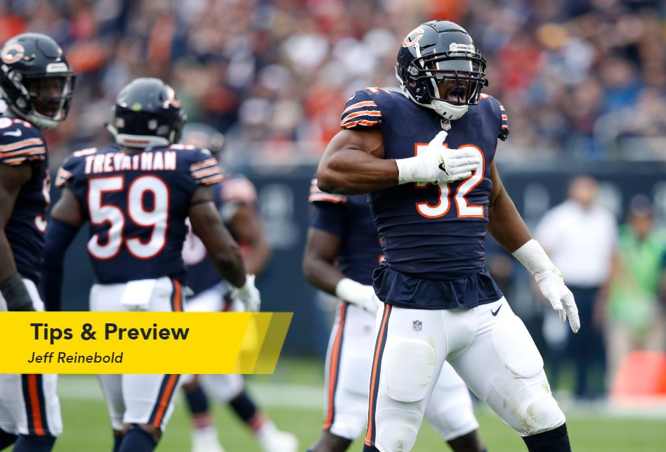 Jeff Reinebold's NFL Week 10 Tips & Betting Preview