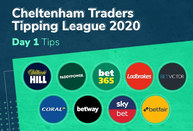 Cheltenham Traders Tipping League Day 1 Tips