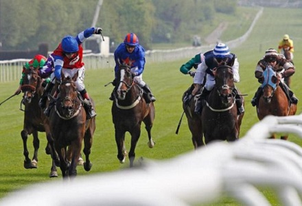 Knight To Behold smashed in to win the Epsom Derby