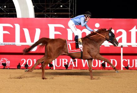 Demora to triumph in Meydan