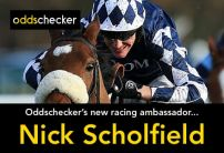 Nick Scholfield: 'If he shows on the track what he does at home he should be winning'