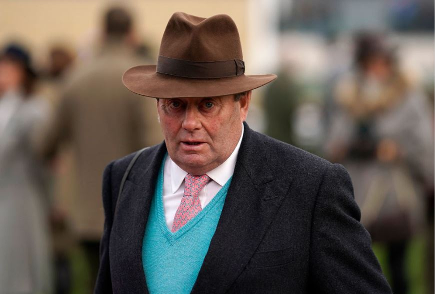 Nicky Henderson-trained horse has received less than 1% of Grand National bets