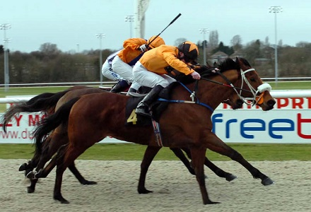 Aggie can end Lingfield drought