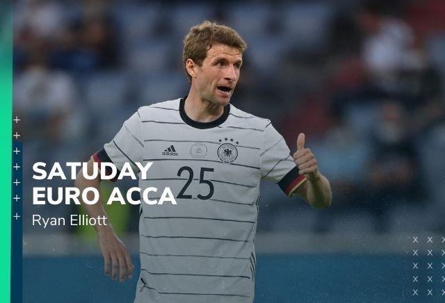 Euro 2020 Accumulator Tips: 5/1 Saturday Double