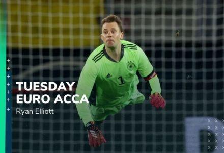 Euro 2020 Accumulator Tips: Tuesday 9/2 Double