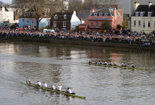 Oxford being backed for Boat Race success