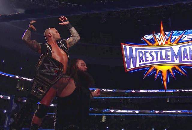 What the punters are backing at Wrestlemania?
