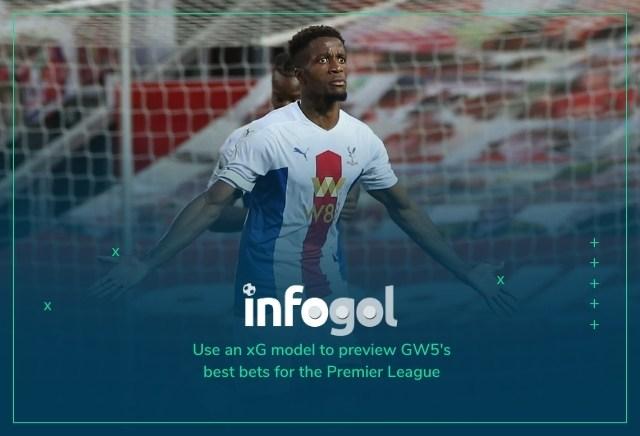 Infogol Premier League GW5 Best Bets